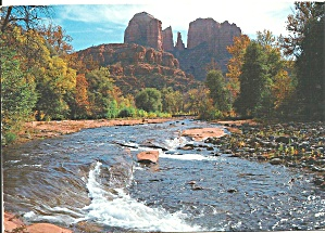 Oak Creek Canyon AZ  Court House Rock cs9043 (Image1)