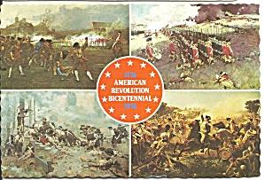 American Revolution Four Land War Views cs9055 (Image1)