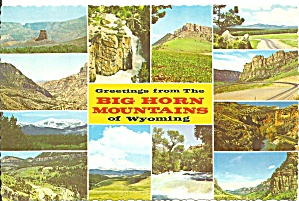 Big Horn Mountains Wyoming Twelve Views cs9062 (Image1)