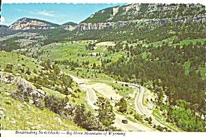 Big Horn Mountains Wyoming Switchbacks cs9063 (Image1)