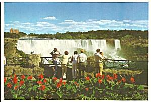 Niagara Falls American Falls Postcard cs9080 (Image1)