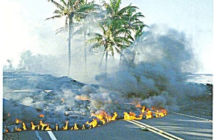 Kalapana Coast Big Island Hawaii Lava Flow cs9084 (Image1)