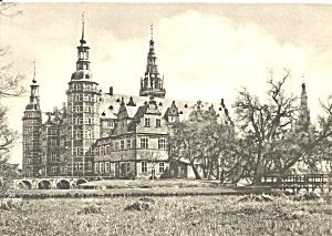 Hillerad Denmark Frederiksborg Palace Postcard cs9113 (Image1)