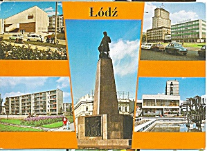 Lodz Poland Five Views cs9115 (Image1)