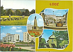 Lodz Poland Five Views