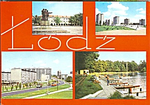 Lodz Poland Four Views