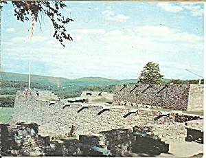 Fort Ticonderoga NY Canons on the Wall cs9128 (Image1)