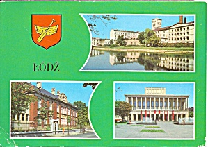 Lodz Poland Three Views Biala Fabryka Cs9133