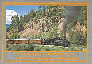 Durango and Silverton Narrow Gauge Railroad Steam Train cs9137 (Image1)
