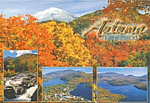 Lake Placid New York Autumn Foliage cs9138 (Image1)