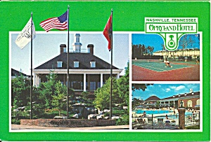 Orpryland Tennessee Opryland Hotel Tennis Court Pool Cs9158