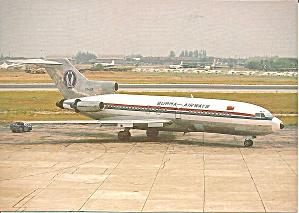 Burma Airways 727-193 XY-ADR cs9170 (Image1)