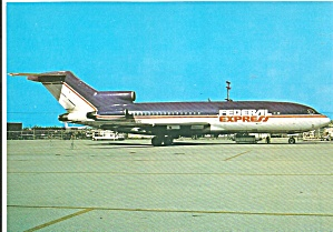 Federal Express 727-22c At Ft Lauderdale Cs9186