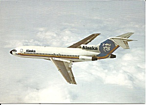 Alaska Airlines Eskimo 727-81 City Of Valdez Cs9193