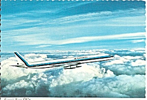 Eastern Airlines Dc-8 In Flight Cs9202
