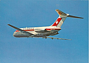 Swissair DC-9 in Flight cs9212 (Image1)