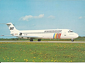 SAS Scandinavian DC-9 SE-DBW cs9214 (Image1)