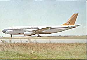 South African Airways Airbus A300-BK  cs9217 (Image1)