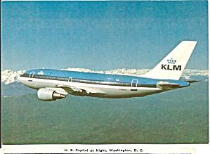 KLM Airbus A310-203 F-WZEF Jetliner cs9236 (Image1)