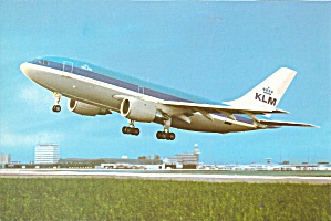 KLM Airbus A300 at Schiphol cs9251 (Image1)