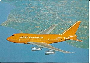 Braniff International 747SP-27 N603BN in Orange cs9257 (Image1)