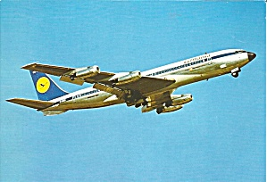 Lufthansa 707 B  Climb Out cs9272 (Image1)