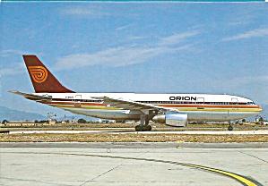Orion Airways Airbus A300 B4-203  cs9277 (Image1)