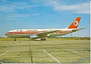 Malaysian Airbus A300 B4-203 9M-MHA cs9278 (Image1)