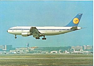 Lufthansa A-300 Landing cs9283 (Image1)