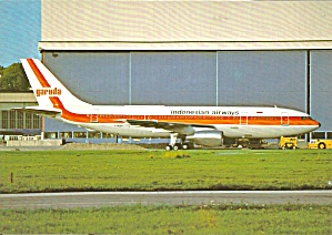 Garuda Indonesian Airlines Airbus A300B4-220 F-WZMT cs9294 (Image1)