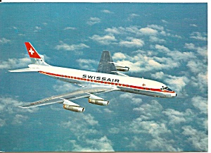 Swissair DC-8 In Flight cs9308 (Image1)