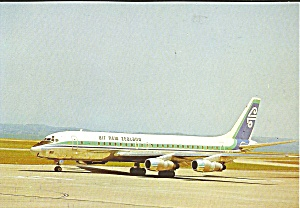 Air New Zealand Dc-8 Cs9317