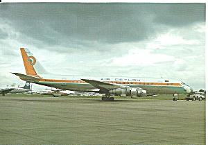 Air Ceylon DC-8 4R-ACQ at Paris Le Bourget cs9319 (Image1)