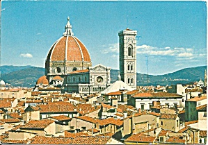 Florence Firenze Italy Cathedral Cs9341