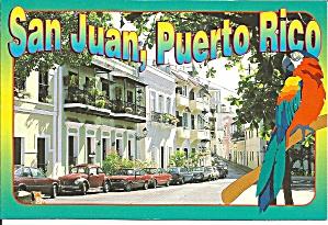 San Juan Puerto Rico Streets of Old San Juan cs9348 (Image1)
