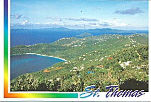 St Thomas Virgin Islands  View From Mountain Top cs9364 (Image1)
