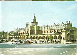 Krakow Poland Main Square Rynek Glowny cs9367 (Image1)