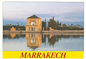 Marrakech Morocco The Menara Pavalion cs9369 (Image1)