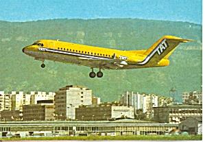 TAT European Airlines Fokker F-28 cs9371 (Image1)