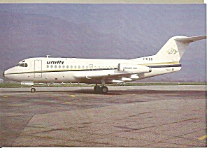 Unifly Express Fokker F-28-1000 Fellowship I-TIDB cs9373 (Image1)