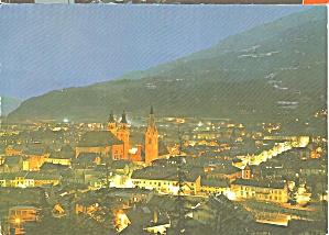 Brixen Italy at Night (Image1)