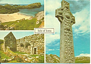 Isle Of Iona Scotland St Martin S Cross Cs9395