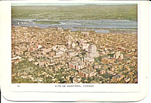 Aerial View Of Montreal Quebec Canada Cs9418