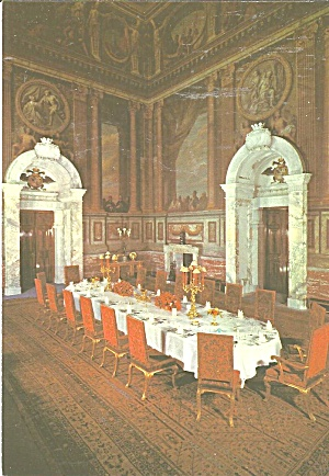 Blenheim Palace Woodstock Oxfordshire England The Saloon Cs9422