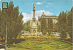 Madrid Spain Christopher Columbus Monument (Image1)