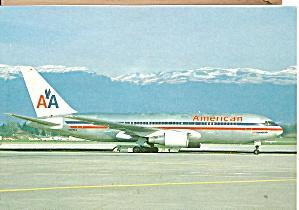 American Airlines 767-223 ER N323AA at Geneva cs9456 (Image1)