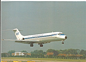 SAS DC-9 Jetliner Ready to Land  cs9472 (Image1)