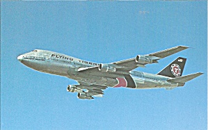 Flying Tigers 747 Jetliner In Flight Cs9510