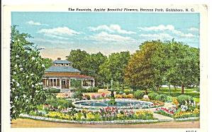Goldsboro NC Fountain in Herman Park cs9523 (Image1)