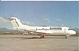 ALINORD Fokker F-28-1000 at  Bergamo Italy cs9542 (Image1)